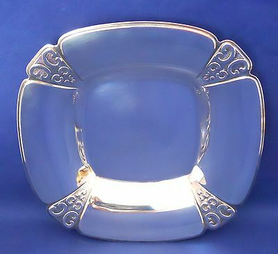 1968 International Triumph Deep Silver Candy Serving Dish Vintage