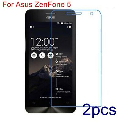 2x Genuine Explosion-proof Tempered Glass 9H Screen Protector For Asus Zenfone 5