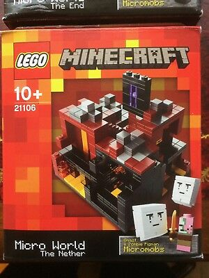 Lego Minecraft Micro World The Nether 21106 100