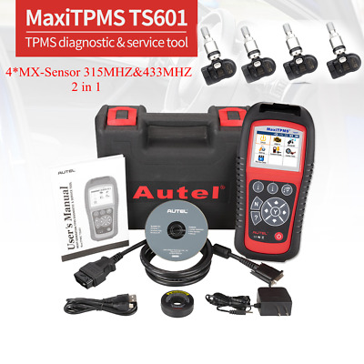 Autel MX-Sensor 315MHz Universal Programmable TPMS Sensor for Tire Pressure NEW