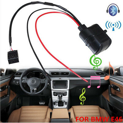 Bluetooth AUX Adapter Car Audio Stereo Module for BMW E46 Business CD SA 661/650