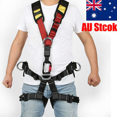 Body Protection Safety Belt Harness Downhill Rock Climbing Aerial AU Stock