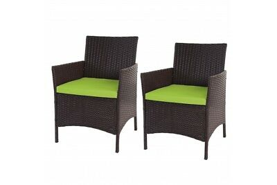 alu gartenstuhl polyrattan korbsessel gartenm bel korb stuhl sessel mit kissen eur 124 99. Black Bedroom Furniture Sets. Home Design Ideas