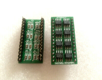 HIFI 8PCS TDA1387 In Parallel Module Replacement Substitution TDA1541 TDA1541A U