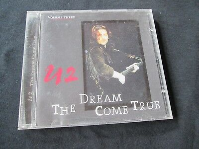 U2 The Dream Come True Volume 3 CD RARE LIVE 85 - 87