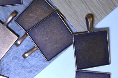 Copper Photo Tray for Bolo Tie Clip. Here's how to Make
