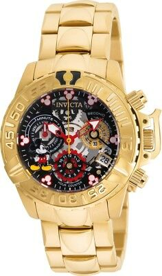 Invicta Women's 24507 Disney Limited Edition Subaqua Chronograph Skeleton Watch