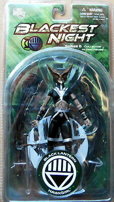 Black Lantern Hawkgirl Action Figure Blackest Night Series 6- Sealed