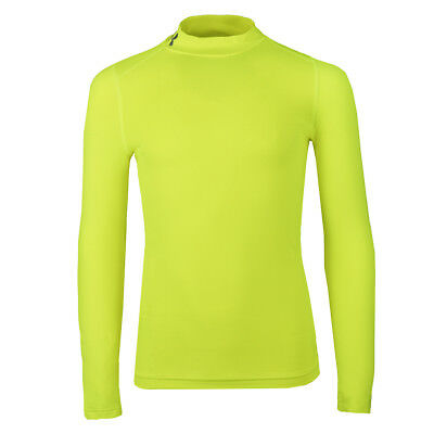 Under Armour Boys' ColdGear Fitted Mock L/S Shirt