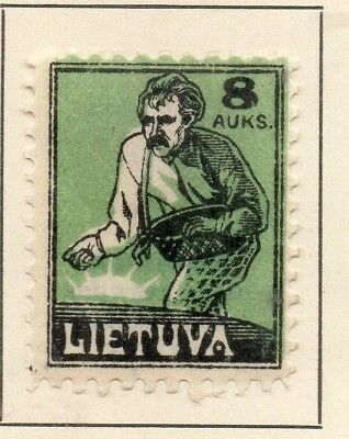 Lithuania 1922 Early Issue Fine Mint Hinged 8A. 232048