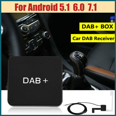 For Android 5.1/6.0/7.1 Car Stereo External DAB+ Digital Radio Box Amplified Kit