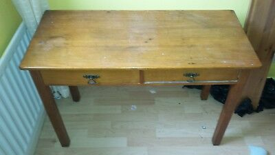 Table, old , vintage 100 cm wide, 45 cm deep and 69 cm high