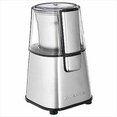 Ovente Multi-Purpose Electric Grinder Removable Bowl & Stainless Steel Blades