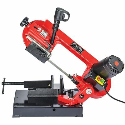 "General International 4"" Portable Metal Cutting Band Saw BS5202"