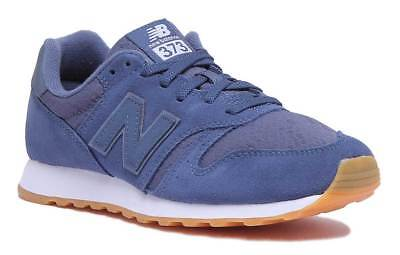 timeless design 0d16d 121da New Balance WL373NVW Modern Classic Navy White Women Suede Leather Trainers  Size