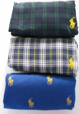 Polo Ralph Lauren classic fit woven boxers 3-Pack $39.50 price 2 styles NWT