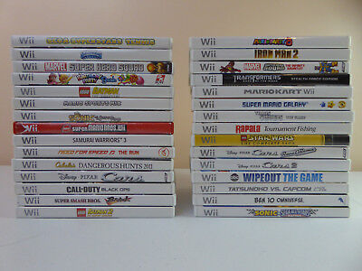Nintendo Wii Collection Games For All Ages