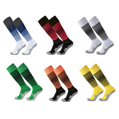 Men's Sport football Soccer Long Socks Over Knee High Sock Baseball Hockey Lot
