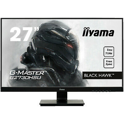IIYAMA G-MASTER G2730HSU-B1 27 Zoll Full-HD Gaming Monitor (1 ms Reaktionszeit,