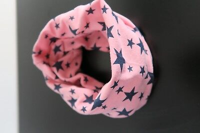 Baby Scarf Pink and Blue Stars Baby Bib Free shipping. 100% cotton