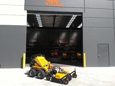 Front deck Mower to suit mini diggers such as kanga dingo toro & vermeer