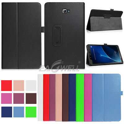 """PU Leather Case Stand Cover For Samsung Galaxy Tab A A6 7"""" 8"""" 10"""" SM-T580 Tablet"""