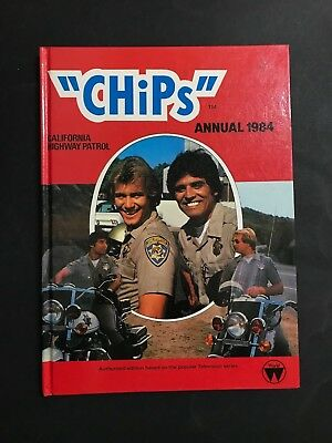 Chips California Highway Patrol Annual From 1984