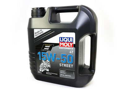 Liqui Moly Engine Oil High Performance Part Synthetic Engine Oil 4 Liter 15W-50