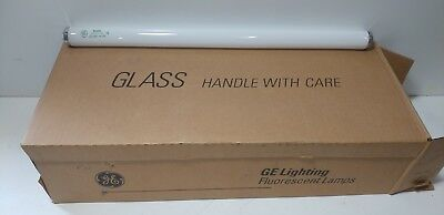 New Case Of 24 Ge F20T12/cw/eco 20 W Fluorescent Lamps Ecolux Cool White 80045