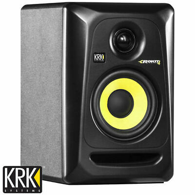 "KRK Rokit 4 Powered Studio Monitor Speaker RP4G3 Gen 3 4"" Active (Single)"