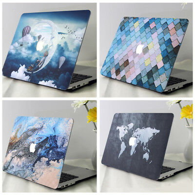 "Newest For Macbook Air 11""12""Pro 13""15""Retina Hard Laptop Case Floral Shell Lot"