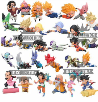 Dragon Ball 30 Estatuillas Personajes con Caja Super Z Action Figura Sayan Goku