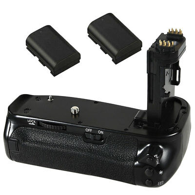 Professional Battery Grip As BG-E21 for CANON 6D Mark II 6DII + 2X LP-E6 Battery