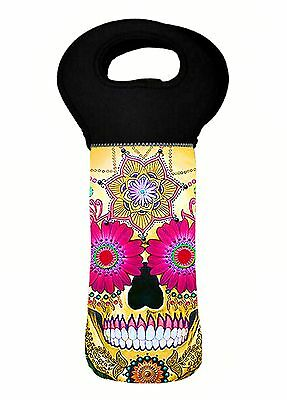 Skull Wine Carry Bag Cooler Bag