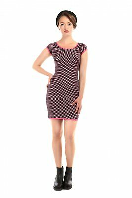 Collectif Vintage Imogen Knitted Jacquard Dress