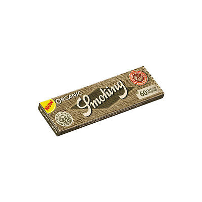★3000 Cartine Smoking Organic Regular Corte Canapa 50 Libretti 1 Box★