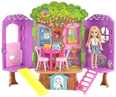 NEW Licensed Barbie Club Chelsea Doll Treehouse Playset Christmas Birthday Gift