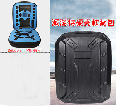 Carrying Case Hard Shell Backpack for Parrot Bebop 2 FPV Drone Waterpoof Parts