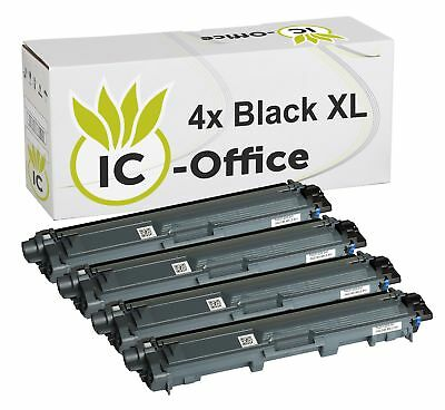 4x TONER BK für BROTHER Laser Printer MFC9142CDN MFC9332CDW MFC9342CDW XL