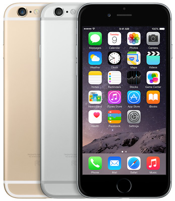Apple Iphone 6 16Gb 64Gb 128Gb Space Grey Silver Gold Uk Unlocked Smartphone