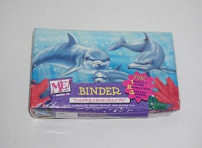 Dimensions NEW Dolphin Binder + Extras Divider Tabs Address Card 2003 ME! Etc.