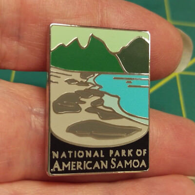 New Traveler Series Pin National Park of American Samoa - National Park Pin