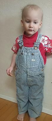 LEE vintage baby toddler overall USA 1950 coverall 18 24 months denim jeans 2T
