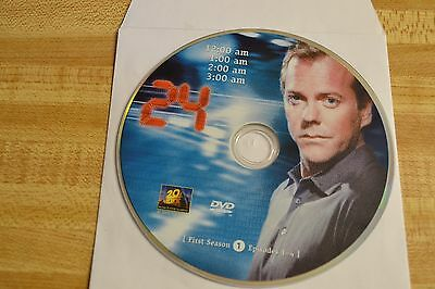 24 First Season 1 Disc 1 Replacement DVD Disc Only 52-171