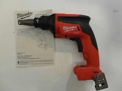 MILWAUKEE 2866-20 M18 18V 18 VOLT  Li-Ion Drywall Screw Gun Tool Only NEW