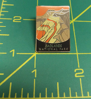 New Traveler Series Pin Badlands National Park South Dakota tie tac Lapel Pin