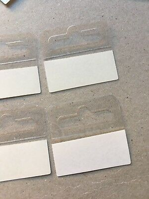 Hang Sell Tabs Tags Strong Adhesive Hooks Hole Style  Display & Sell 40mmx40mm