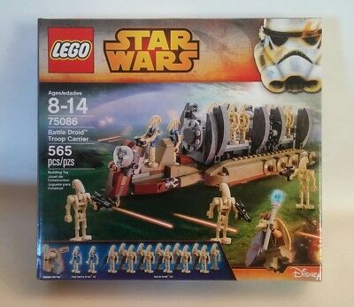LEGO STAR Wars 75086 Battle Droid Troop Carrier New and Sealed ...