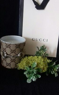 gucci candle with gift bag,gucci home decor Made in italy