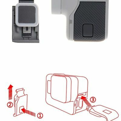 Front/Side Door USB-C Micro-HDMI Port Cover Protector for GoPro Hero 5/6 Repair